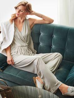 Выкройка Комбинезон длинный и бюстье на бретелях: купить выкройки, пошив и модели | Burdastyle