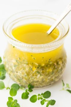 With bright, fresh lemon flavor, this Lemon Oregano Salad Dressing is delicious on just about any salad; but how about on grilled chicken, shrimp and pork, roasted veggies, steamed potatoes ... everything? thecafesucrefarine.com