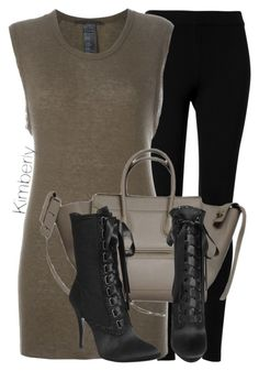 """Untitled #1703"" by whokd ❤ liked on Polyvore featuring Max Studio, Haider Ackermann, CÉLINE and Giuseppe Zanotti"