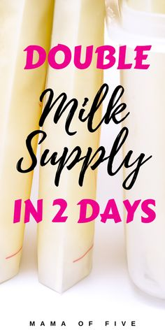Increase breast milk supply fast with these top tips. The best was to double your milk supply