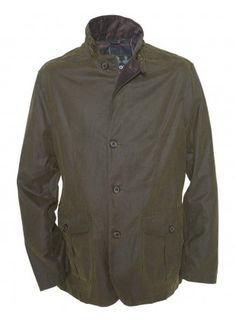 Mens Barbour Lutz Jacket - Olive