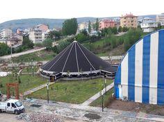 Alucra Belediyesi Düğün Salonu | Filiz Dokumacılık | Kıl Çadır, Yörük Çadır Üretimi