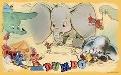 The power of friendship is celebrated in this latest downloadable wallpaper. As Timothy Q. Mouse and Dumbo demonstrate, true friendship is about giving your pal the confidence they need to take on the world.