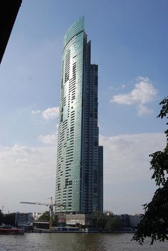 The River 265m, 73 floors, completion 2012. Bangkok