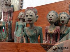 #Wooden #Indonesia Wedding couples. Great decorative accents #Muebles NOMAD…