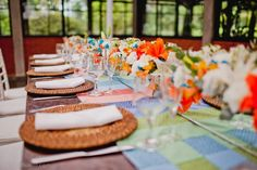 Decoração de casamento | Tons vibrantes