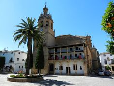 Collegiate Church of Sta. Maria De La Incarnacion Mayor in Ronda, Spain