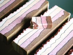 Roses and Chocolate Bar Soap by Mimi and Boo