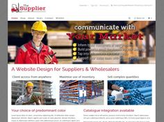 The-Supplier is a perfect #ecommerce #website for the industrial or manufacturing industry. With lots of great features like PayPal integration & #socialmedia functions and at an affordable price.