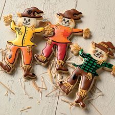 Scarecrow Cookies....LOVE these!!!