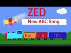 Another great alphabet song incorporating trains. They have a whole series of alphabet, numbers, fruits, and days of the week.