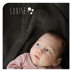 Faire-part naissance photo Bulles - DIY