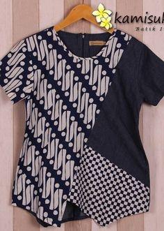 Blouse Batik, Batik Dress, Blouse Patterns, Blouse Designs, Mode Batik, Batik Fashion, Fancy Tops, Pakistani Dress Design, Creation Couture