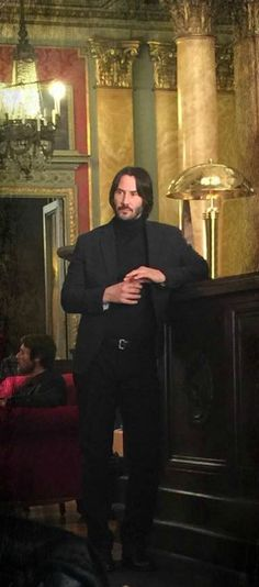 #JohnWick/JohnWickChapter2 behind the scenes(I think?)  Keanu Reeves(John)