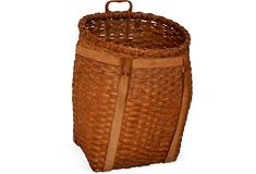 Adirondack Pack Basket - my brother made a couple of these - they're gorgeous.