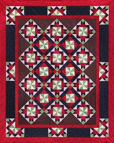Take Two. You'll use two blocks, two tools, and two units to make Take Two, an eye-catching quilt that Deb designed for Marie Bostwick's 2014 book, Apart at the Seams. You'll use your Tucker Trimmer 1 and Wing Clipper 1 as you create this gorgeous quilt.