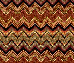 a sucker for orange chevron  fabric by glimmericks on Spoonflower - custom fabric
