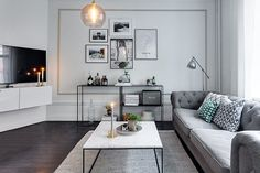 """Interior design is making the best possible use of the available space"" ( via 📷 Living Room Inspiration, Interior Inspiration, Gravity Home, Small Room Design, Scandinavian Home, Living Room Modern, Home Decor Furniture, Beautiful Interiors, Decoration"