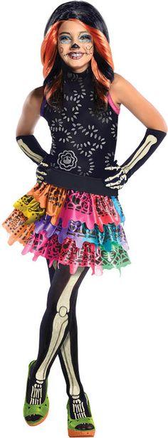 Scary Tales Threaderella Frankie Stein Halloween Costume Monster - halloween costume girl ideas