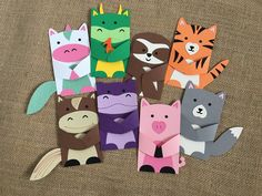 Other Animals with Lawn Fawn Woodland Critter Huggers by Jess Crafts