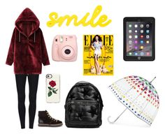 Domingo by milena-lister-quevedo on Polyvore featuring polyvore, fashion, style, WithChic, See by Chloé, STELLA McCARTNEY, Totes, Griffin, Casetify, Fujifilm and clothing