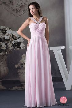 Only $134.9, Special Occasion Dresses A-line Halter Floor-length Chiffon Prom Dress With Beading #OP4587 at #GemGrace. View more special Special Occasion Dresses,Prom Dresses now? GemGrace is a solution for those who want to buy delicate gowns with affordable prices, a solution for those who have unique ideas about their gowns. Find out more>>