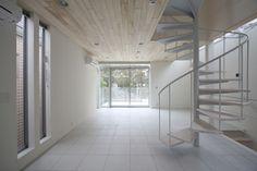 桜並木の家concept1