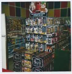 A store display from 1983