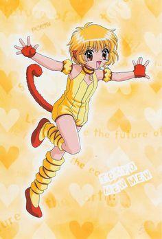 Tokyo Mew - Mew ( Bu-Liang Huang ( Pudding Fong ) ) - Golden Lion Tamarin Version Part. Tokyo Mew Mew Ichigo, Series Manga, Manga Anime, Anime Art, Anime Cosplay Costumes, Cosplay Outfits, Cosplay Ideas, Mermaid Melody, Shugo Chara