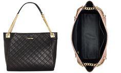 Calvin Klein Quilted Pebble Tote - Shoulder Bags - Handbags & Accessories - Macy's