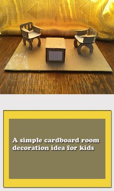 A simple cardboard room decoration idea for kids - Querianson Best Blogs, Mom Blogs, Diy Crafts For Kids, Creative Crafts, Organized Mom, Kids Health, Diy Party, Parenting Hacks, Activities For Kids