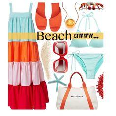 Tiered Dress - Beach Day