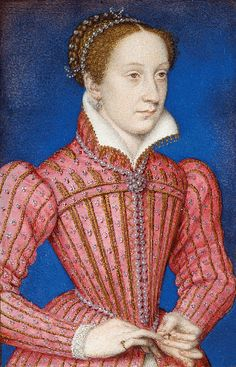 Mary, Queen of Scots, painted in 1558.    The Royal Collection © 2009, Her Majesty Queen Elizabeth II