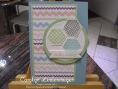 Carolyn's Card Creations: Hello Baby