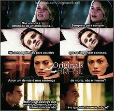 The originals The Vampire Diaries, Vampire Diaries The Originals, Klaus E Camille, The Originals Brasil, Best Series, Tv Series, Klaus Tvd, The Orignals, The Mikaelsons