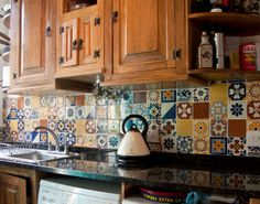1000 images about mexican tiles on pinterest mexican for Kitchen ideas edinburgh