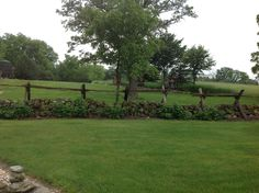 Original Dry stacked stone fences for miles outlining all the fields