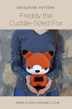 Storyland Amis-Freddy the Cuddle-Sized Fox Amigurumi Pattern