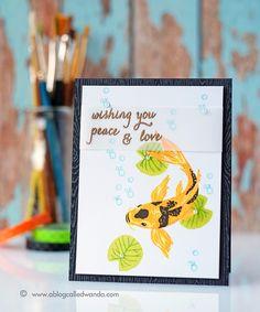 Hero Arts Catalog Blog Hop. Card by Wanda Guess!