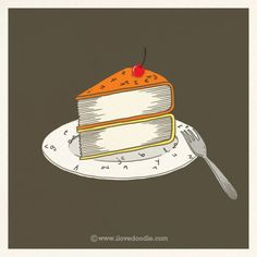 Cake books - by Lim Heng Swee (ilovedoodle)