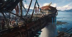 ArtStation - Pirate Cove Up Top, Kevin Jick