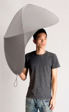 Shield Umbrella - protects more than just the top of your head.