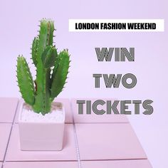 You have 15 minutes to enter our giveaway for tickets to London Fashion Weekend worth 40 for you and a friend. To enter: 1. Follow us on Instagram and 2. Tag your friend below! Good luck