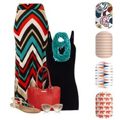 Spring Summer 2016 Fashion - Countryside - Bondi Beach - Circus Tent - Trunk Show - Jamberry DIY Nail Art