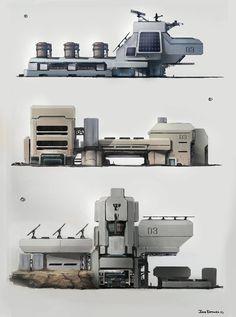 ArtStation - Structure Sketches, Jose Borges