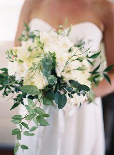Rustic white peony summer wedding bouquet: Photography: Michael & Carina - http://www.michaelandcarina.com/
