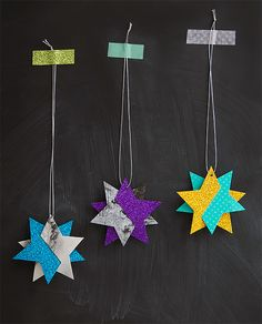 DIY Wish Upon A Star Ornaments