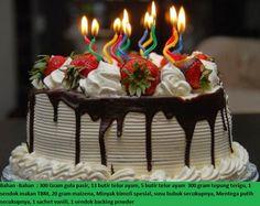 25 Ide Terbaik Kue Ulang Tahun Di Pinterest Kue Dan Kue