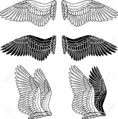angel tattoo outline - Google Search