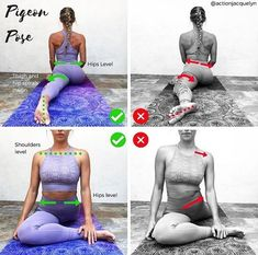 #pigeonpose #yoga #yogaposes #yogafitness #yogatraining #yogapinterest #yogaforbegginers